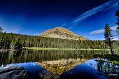 Image of Mirror Lake in the Uinta Mountains, Utah.