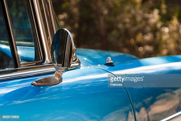 Mirror of an old car