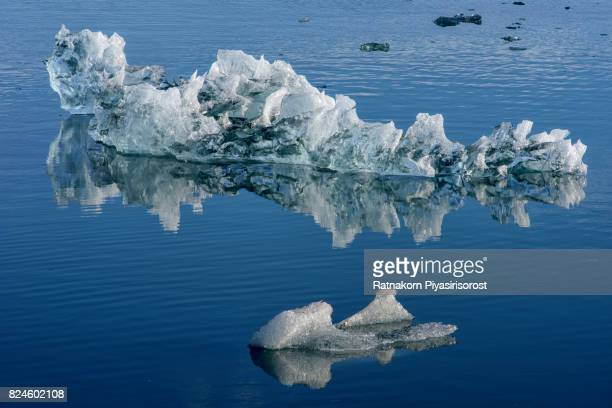 Mirror of Iceberg, Jokulsarlon, Iceland