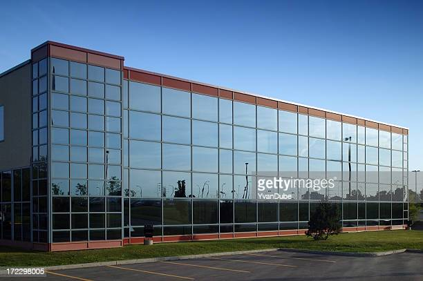 mirror office building