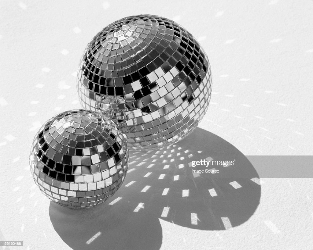 Mirrorballs : Stock Photo