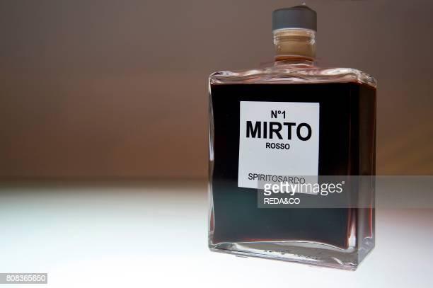 Mirto N1 Spiritosardo Sardinia Italy Europe