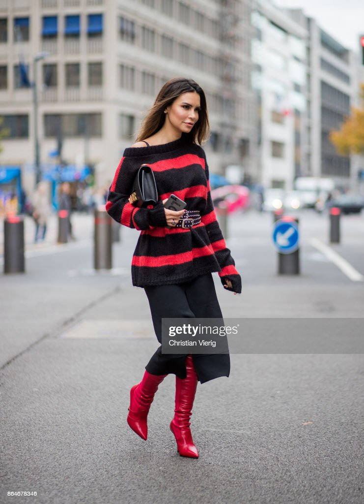 Street Style - Berlin - October 21, 2017