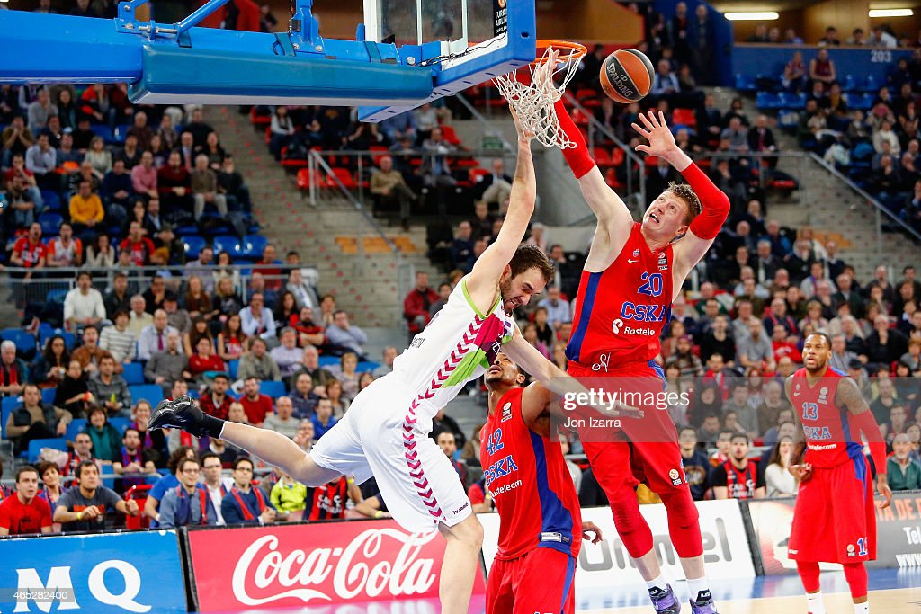 Laboral Kutxa Vitoria v CSKA Moscow - Turkish Airlines Euroleague Top 16