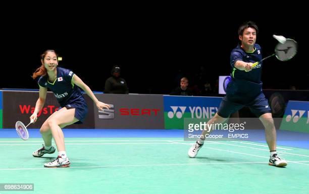Misaki Matsutomo and Kenichi Hayakawa Japan