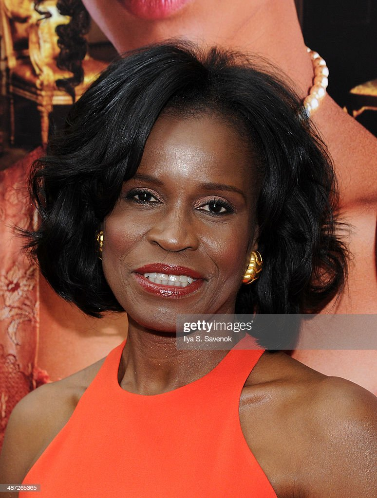 Misan Sagay attends the 'Belle' premiere at The Paris Theatre on April 28, 2014 in New York City.
