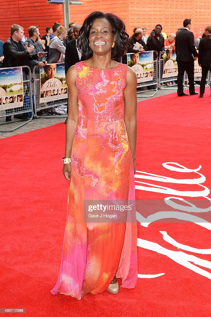 Misan Sagay attends the UK premiere of 'Belle' at The BFI Southbank on June 5 2014 in London England