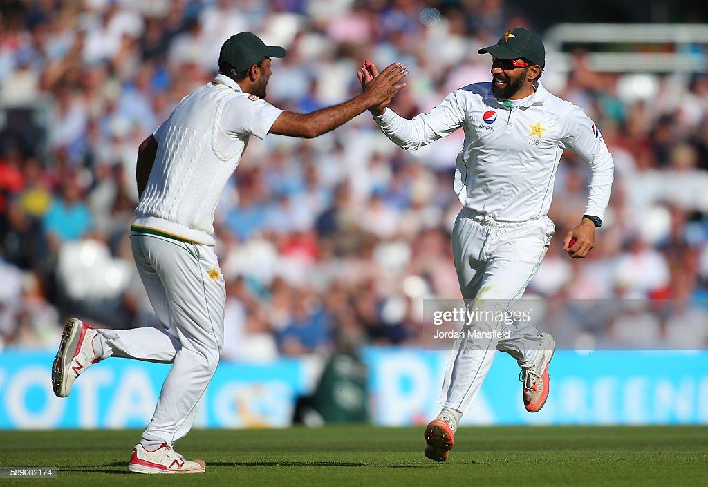 England v Pakistan: 4th Investec Test - Day Three