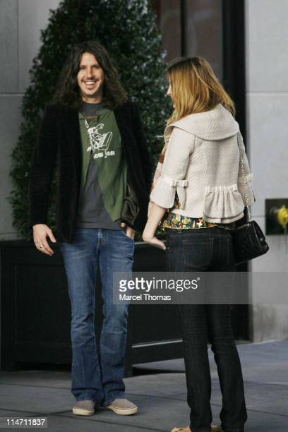 Mischa Barton and Cisco Adler during Mischa Barton Sighting in New York City December 7 2006 in New York City New York United States