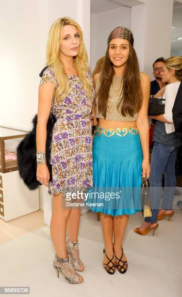 Mischa Barton and Margherita Missoni attend CLASSY by Derek Blasberg Book Launch on May 6 2010 in Beverly Hills California