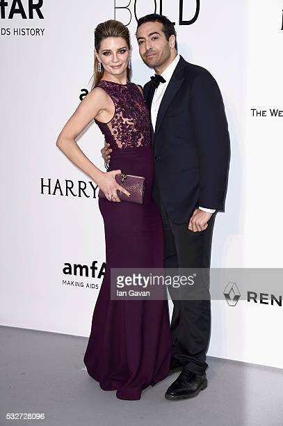 Mischa Barton and Mohammed Al Turki arrive at amfAR's 23rd Cinema Against AIDS Gala at Hotel du CapEdenRoc on May 19 2016 in Cap d'Antibes France