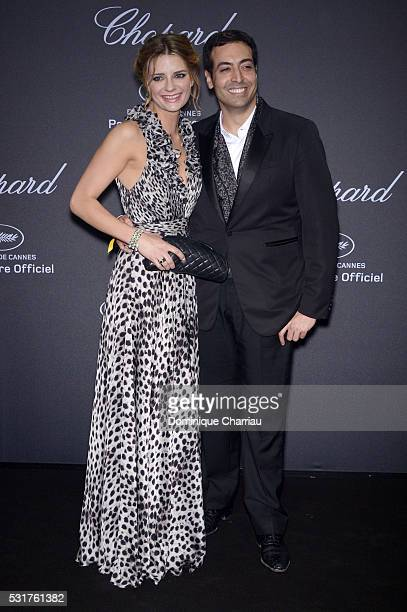 Mischa Barton and Mohammed Al Turki attend the Chopard Party at Port Canto during the 69th annual Cannes Film Festival on May 16 2016 in Cannes France