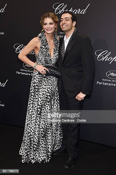 Mischa Barton and Mohammed Al Turki attend the Chopard Party at the 69th annual Cannes Film Festival on May 16 2016 in Cannes France