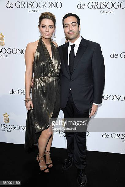 Mischa Barton and Mohammed Al Turki attends the De Grisogono Party during the annual 69th Cannes Film Festival at Hotel du CapEdenRoc on May 17 2016...