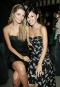 Mischa Barton and Rachel Bilson during Lucky Magazine Celebrates Its September 2005 Cover Girl Rachel Bilson at Chateau Marmont in West Hollywood...