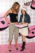 Mischa Barton and Rachel Bilson during Motorola Hosts 5th Anniversary Party Benefiting Toys For Tots Arrivals at Private Location in Culver City...