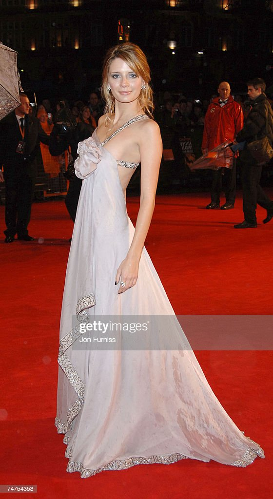 Mischa Barton at the Odeon Leicester Square in London, United Kingdom.