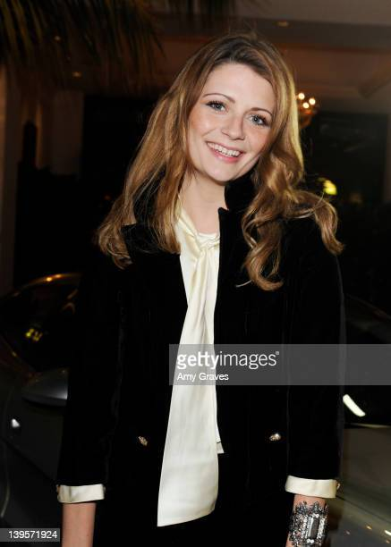 Mischa Barton attends Domingo Zapata's Oscars Art Show With Fisker Automotive on February 22 2012 in Los Angeles California