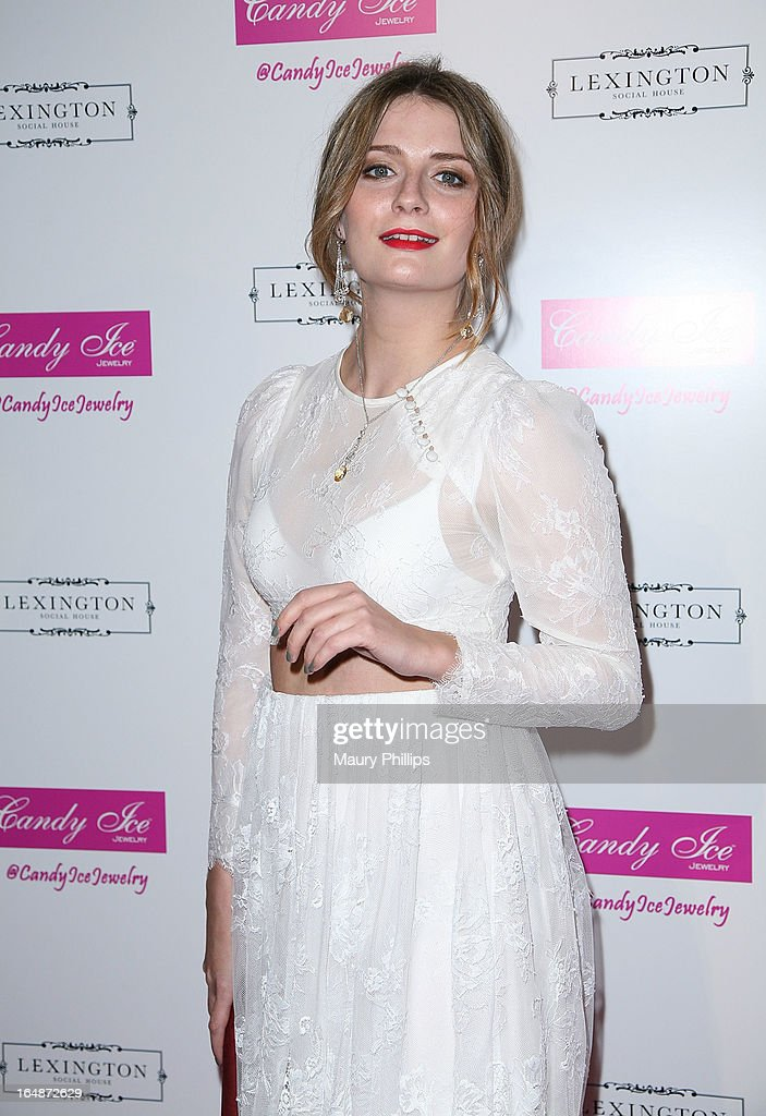 Mischa Barton attends Fire & Ice Gala Benefiting Fresh2o at Lexington Social House on March 28, 2013 in Hollywood, California.