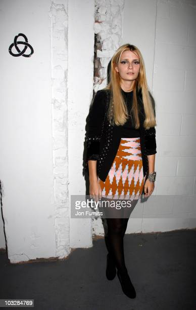 Mischa Barton attends Nokia's Conspirancy For Good at Victoria House on August 7 2010 in London England