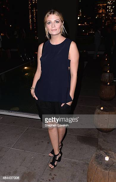 Mischa Barton attends the after party for a screening of Sony Pictures Classics' 'Grandma' hosted by The Cinema Society Kate Spade and Ketel One...