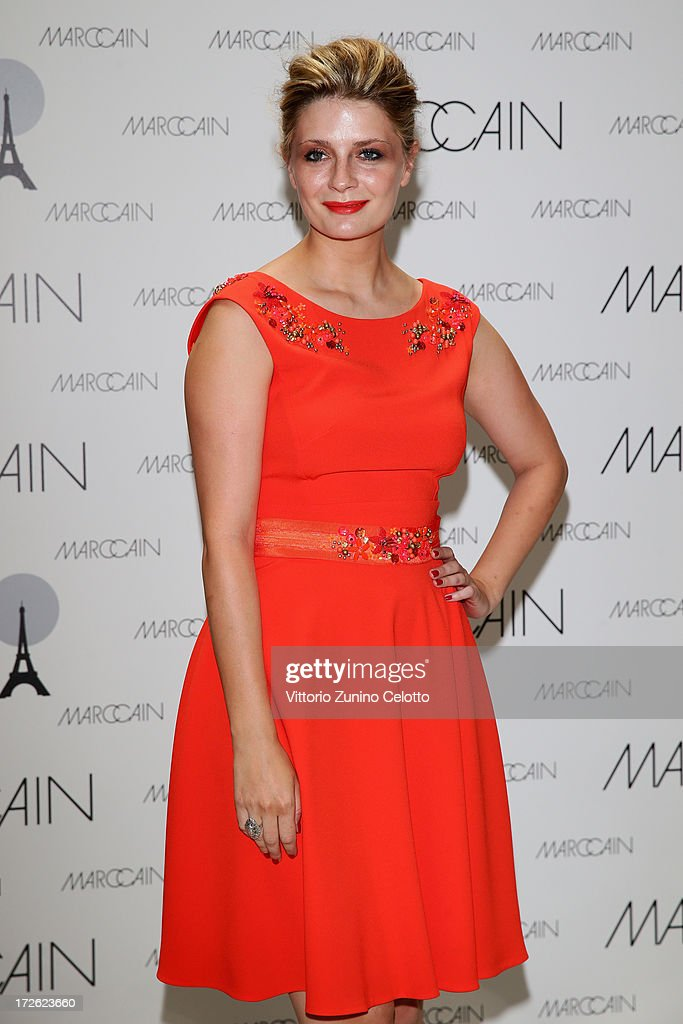 Mischa Barton attends the Marc Cain Photocall during the Mercedes-Benz Fashion Week Spring/Summer 2014 at the Hotel Adlon on July 4, 2013 in Berlin, Germany.