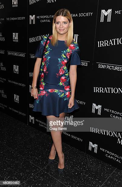 Mischa Barton attends the screening of Sony Pictures Classics' 'Irrational Man' hosted by The Cinema Society with FIJI Water Metropolitan Capital...