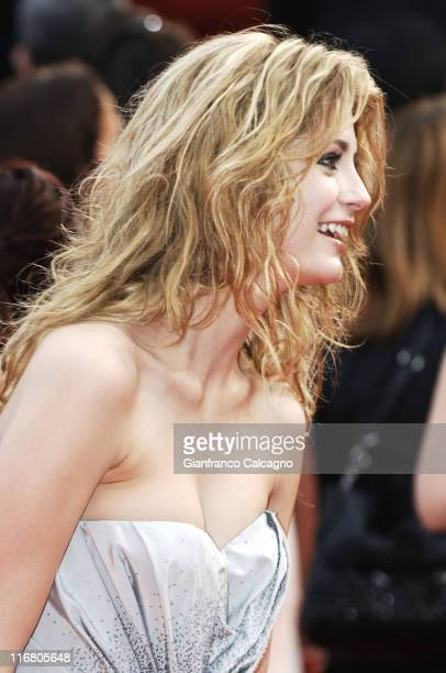Mischa Barton during 2007 Cannes Film Festival 'A Mighty Heart' Premiere Arrivals at Palais des Festivals in Cannes France