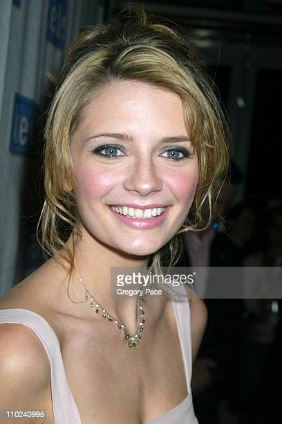 Mischa Barton during Mischa Barton Unveils Keds' Spring 2005 'Be Cool' Ad Campaign Inside at POP in New York City New York United States