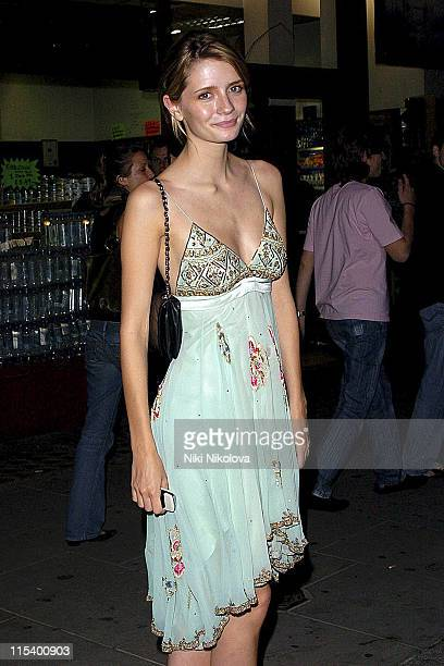 Mischa Barton during Prince of Brunei Birthday Party June 24 2005 at Frankie's Bar Grill in London Great Britain