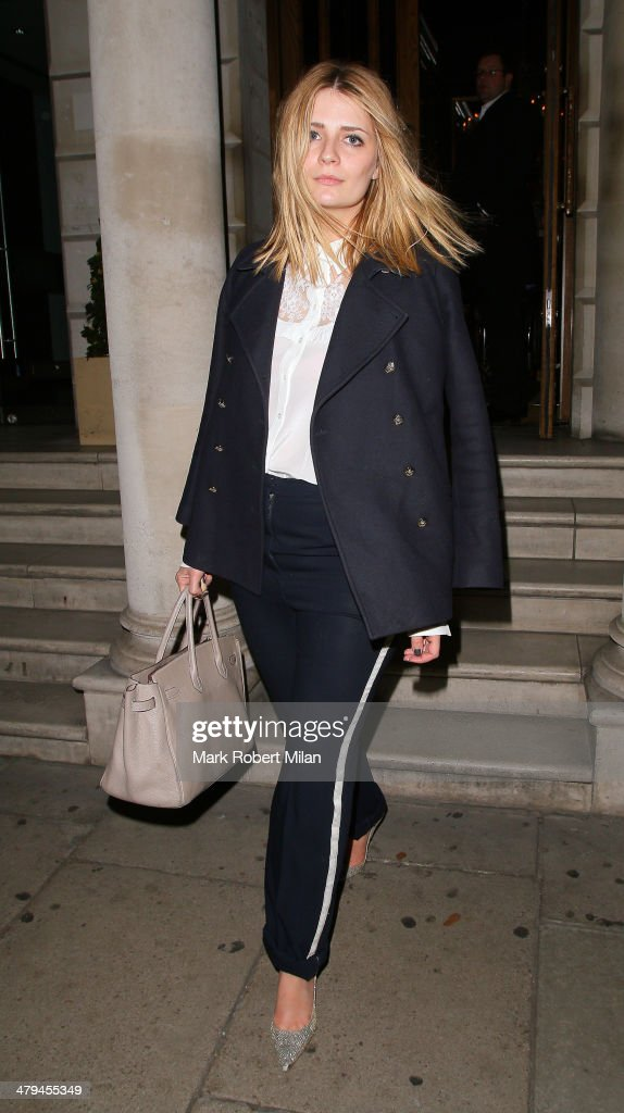 <a gi-track='captionPersonalityLinkClicked' href=/galleries/search?phrase=Mischa+Barton&family=editorial&specificpeople=201862 ng-click='$event.stopPropagation()'>Mischa Barton</a> leaves Coya Restaurant on March 18, 2014 in London, England.