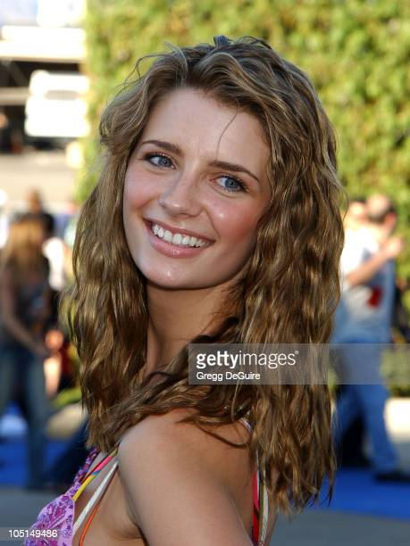 Mischa Barton of 'The OC' during 2003 Teen Choice Awards Arrivals at Universal Amphitheatre in Universal City California United States