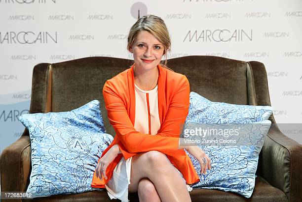 Mischa Barton poses during a portrait session at the MercedesBenz Fashion Week Spring/Summer 2014 on July 4 2013 in Berlin Germany