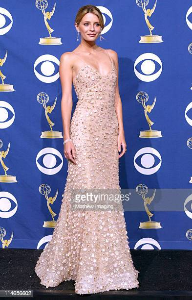 Mischa Barton presenter during 57th Annual Primetime Emmy Awards Press Room at The Shrine in Los Angeles California United States