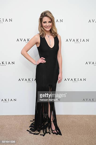 Mischa Barton visits the Avakian Suite during The 69th Cannes Film Festival on May 15 2016 in Cannes France