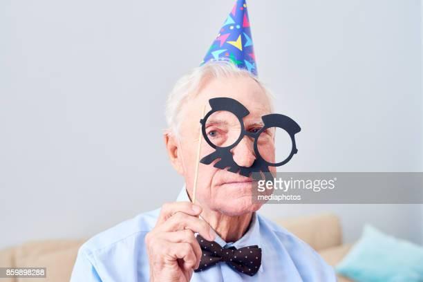 Mischief of elderly man