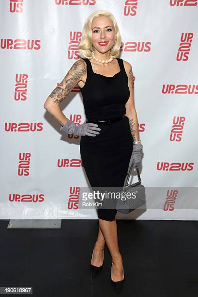 Misfit Dior attends the 2nd Annual Up2Us Gala at MercedesBenz Manhattan on May 14 2014 in New York City