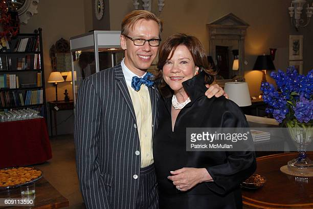 Mish Tworkowski and Suzanne Rheinstein attend Cocktails at Hollyhock Honoring Mish NY and the Breast Center at UCLA at West Hollywood on May 7 2007...