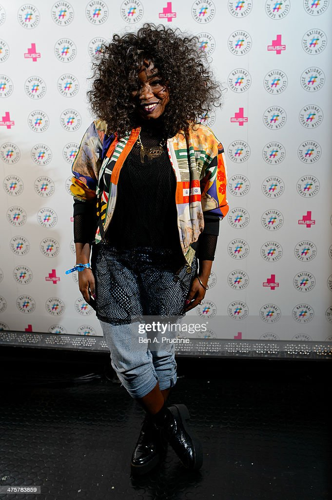 Misha B attends NCS YES live at Brixton Academy on March 1 2014 in London England