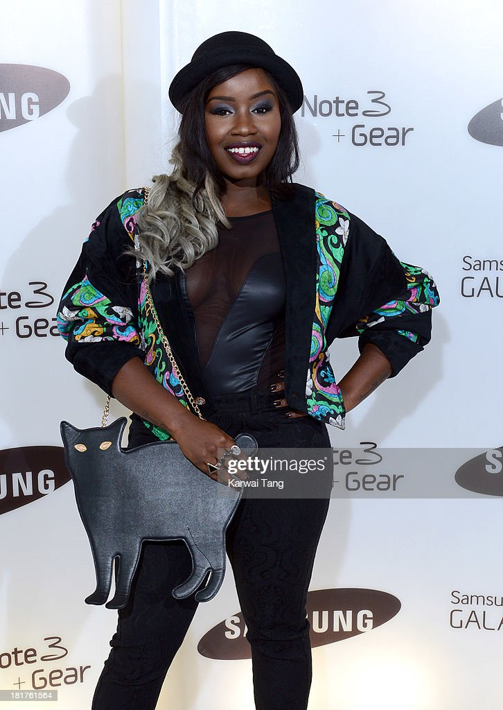 Misha B attends the launch of Samsung's Galaxy Gear and Galaxy Note 3 at ME Hotel on September 24 2013 in London England