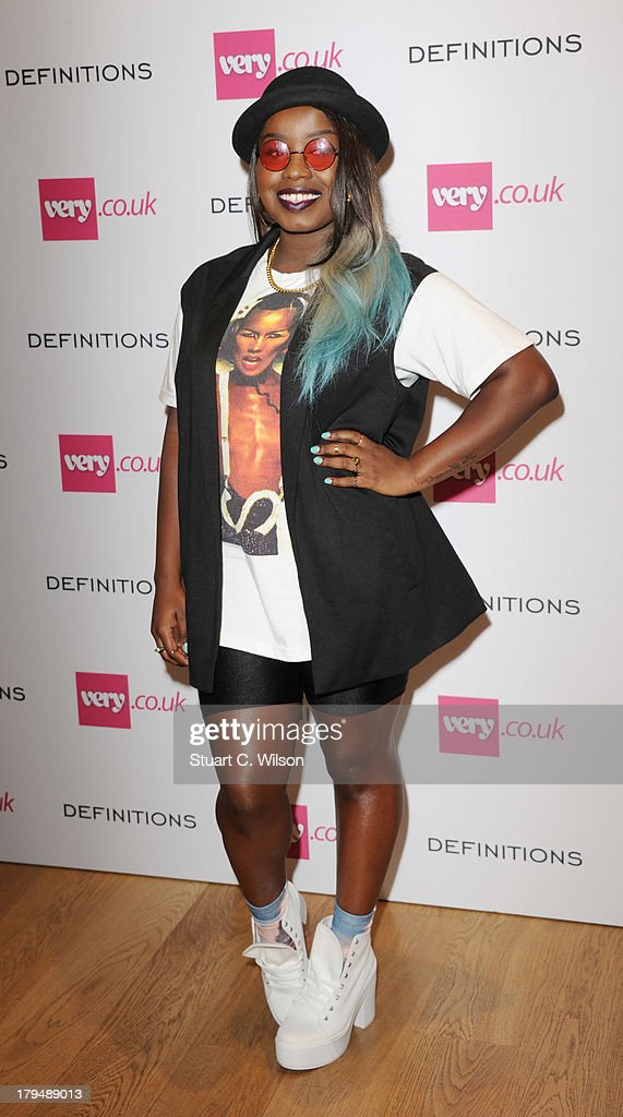 Misha B attends the launch party of verycouk's Definiteations range at Somerset House on September 4 2013 in London England