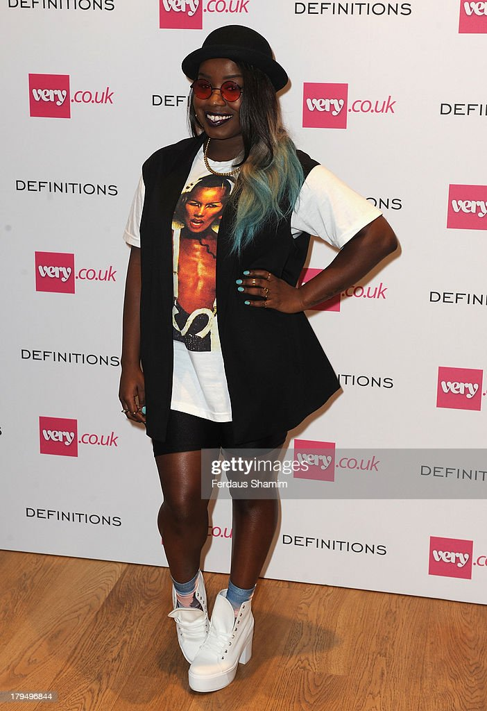Misha B attends the launch party of verycouk's Definitions range at Somerset House on September 4 2013 in London England