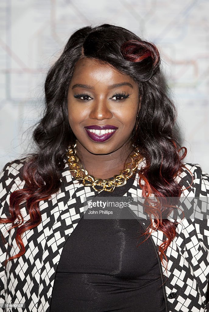 Misha B attends the launch photocall for Gig 2013 on March 26 2013 in London England