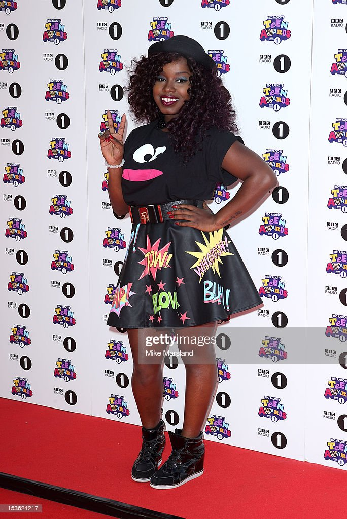 Misha B attends the Radio One Teen Awards at Wembley Arena on October 7, 2012 in London, England.