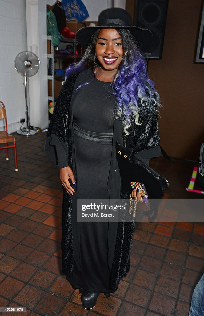 Misha B attends the star studded VIP launch party for truTV a brand new larger than life TV channel launching on 4th August at the truMan Brewery on...