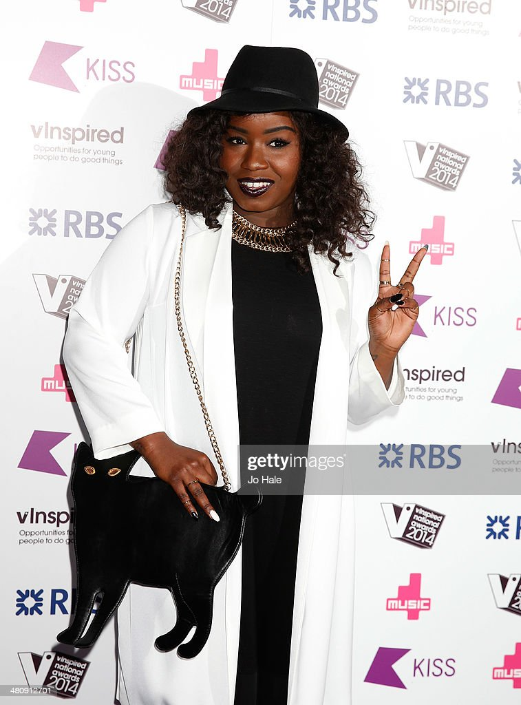 Misha B attends the vinspired National Awards at Indigo2 at O2 Arena on March 27 2014 in London England