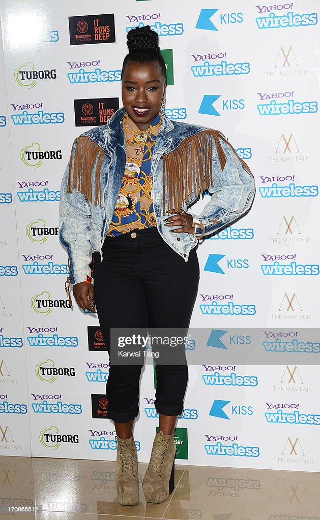 Misha B attends the Yahoo Wireless preparty at The Mayfair Hotel on June 19 2013 in London England