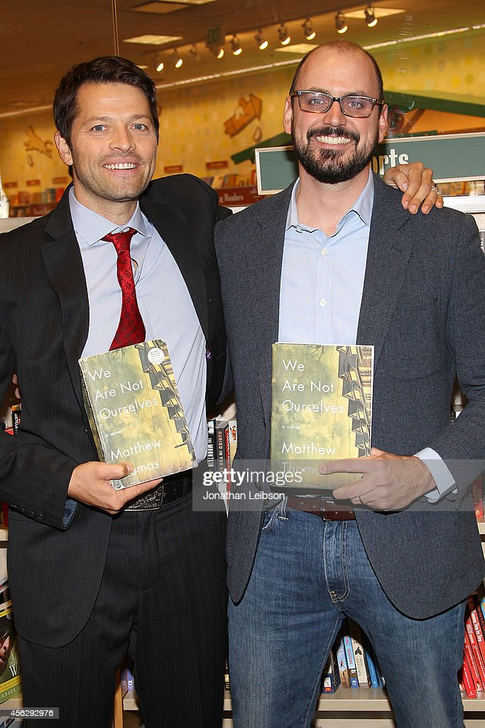 "Matthew Thomas And Misha Collins Sign And Discuss Their New Book ""We Are Not Ourselves"""