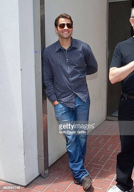 Misha Collins is seen on July 15 2012 in San Diego California