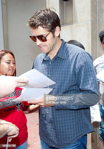 Misha Collins is seen on July 15 2012 in San Diego California
